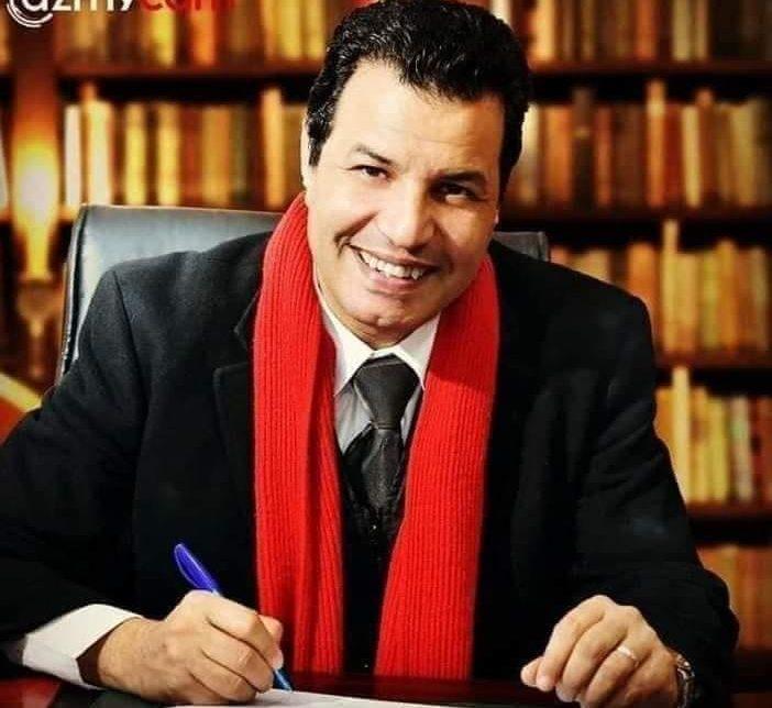 صورة فوز المطرب خالد بيومي بعضوية المهن الموسيقية