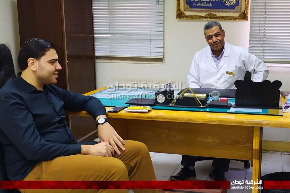صورة الشرقية توداي تحاور مدير مستشفى القنايات وترد على شكاوى المواطنين