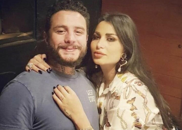 صورة زوجة أحمد الفيشاوي ترد على حبسه لعدم سداد نفقة ابنته