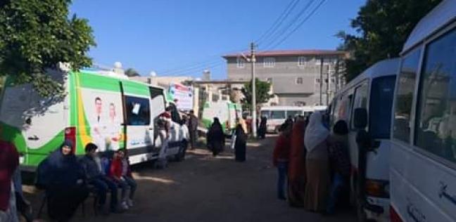 صورة صحة الشرقية تنظم قافلة طبية مجانية بأبوكبير