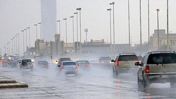 صورة خلال ساعات تعرض البلاد لمنخفض السودان وهذه أماكن سقوط الأمطار