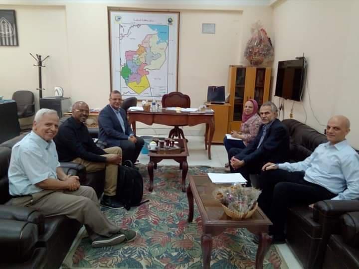 صورة جامعة الزقازيق تستقبل ممثل USAID في مصر