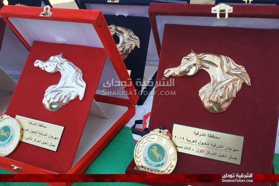 جوائز الفائزين بمسابقة الخيول