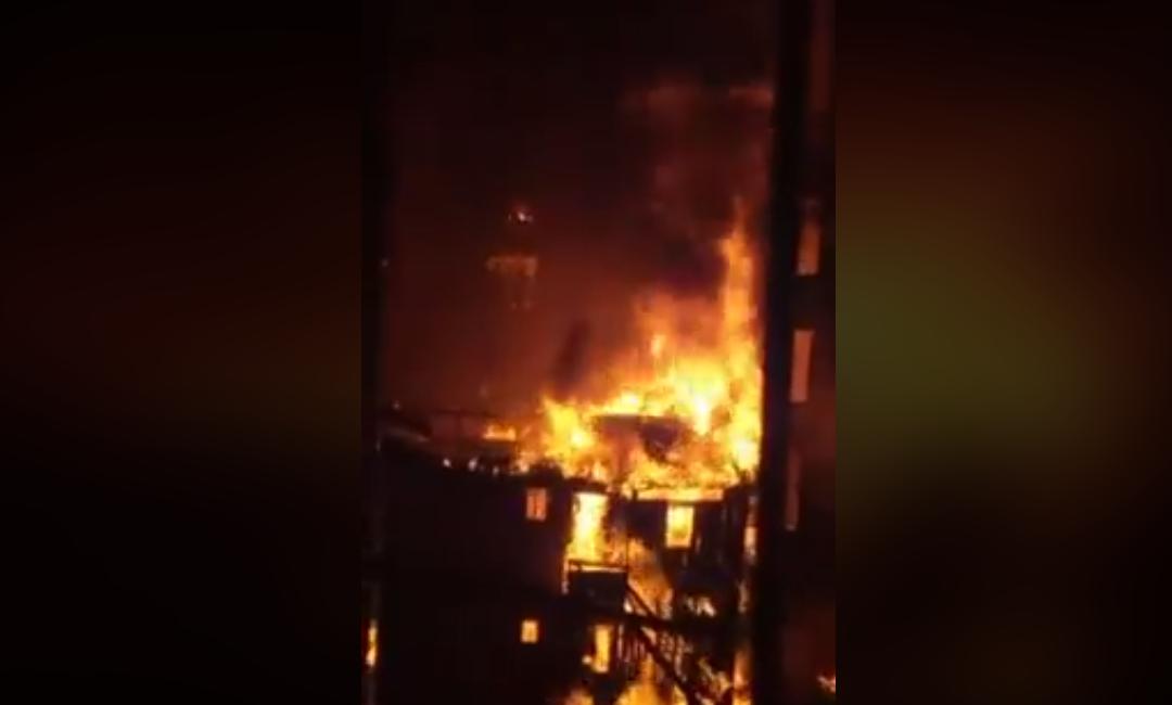 حريق الأسكندرية