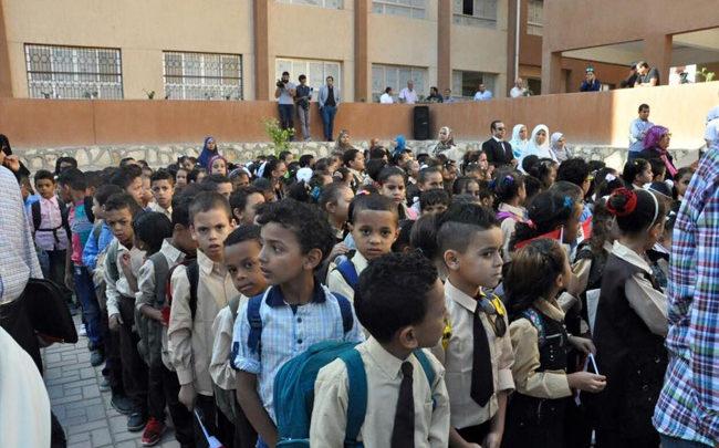صورة شكوى أولياء أمور طلاب مدرسة بالزقازيق لعدم تسليم الكتب المدرسية