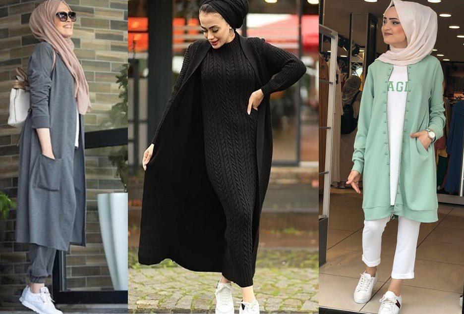 ملابس المحجبات موضة شتاء 2020