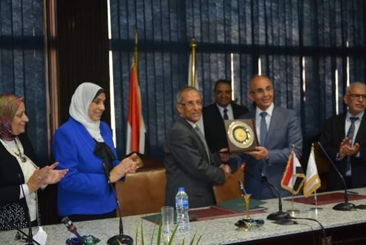 للتعاون بين وكالة الفضاء المصرية وهندسة الزقازيق3