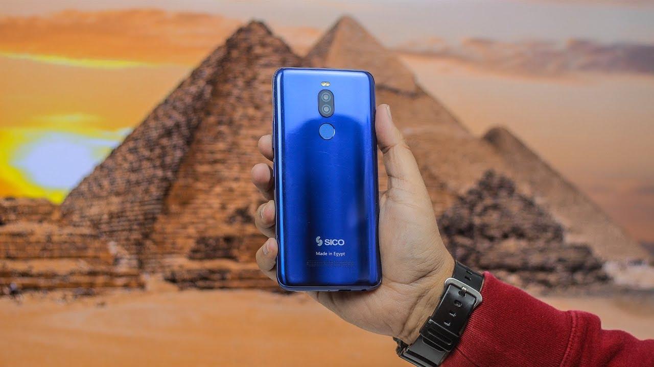 صورة أول هاتف محمول مصري يغزو أوروبا