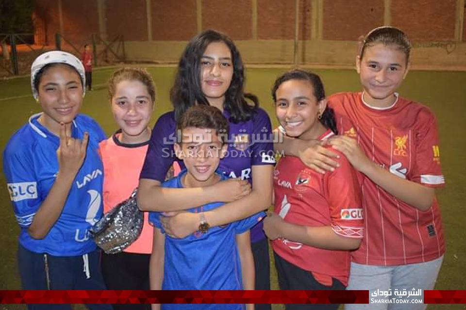 كرة القدم النسائية أبوحماد