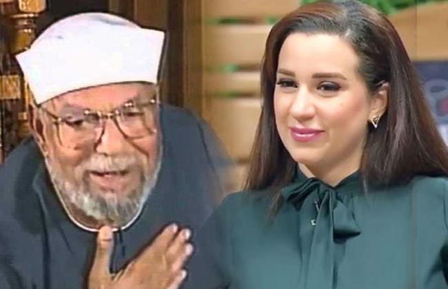 صورة انهيار أسما شريف منير على الهواء بعد تصريحاتها بشأن الشعراوي
