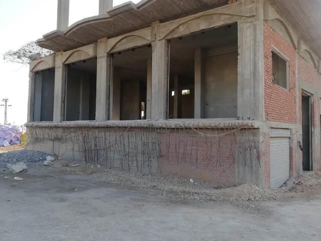 المبنى الذي تم إزالته