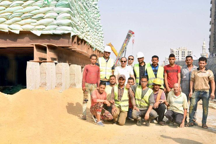 السيسي يتفقد مشروعات مصر الجديدة