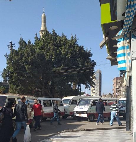 صورة شكوي أصحاب المحلات بشارع السكة الحديد بالزقازيق