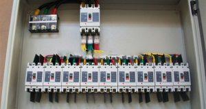لوحة توزيع كهرباء