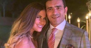 منة حسين فهمي وزوجها