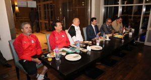 وزير الشباب يزور المنتخب الأولمبي