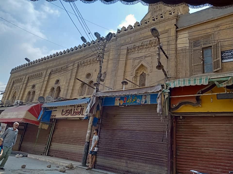 صورة إعادة ترميم لمسجد محمد علي بالشرقية