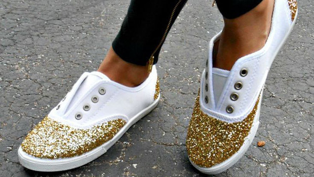 header image how to repair shoes eith glitter main image fustany