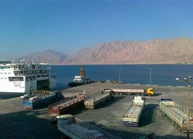 صورة إغلاق ميناء شرم الشيخ البحري بسبب سوء حالة الطقس