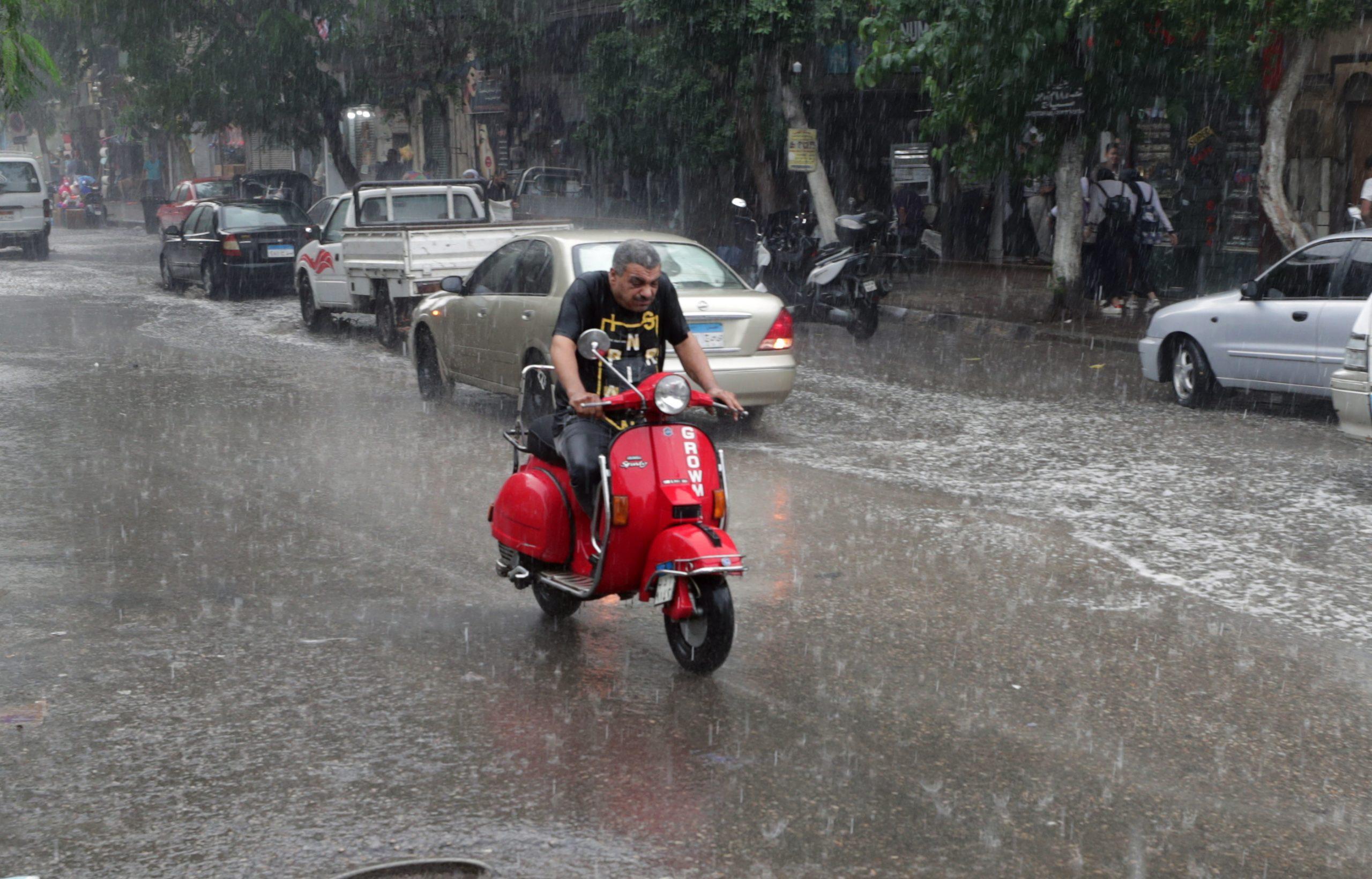 صورة تصل لحد السيول .. خريطة سقوط الأمطار خلال الساعات المقبلة