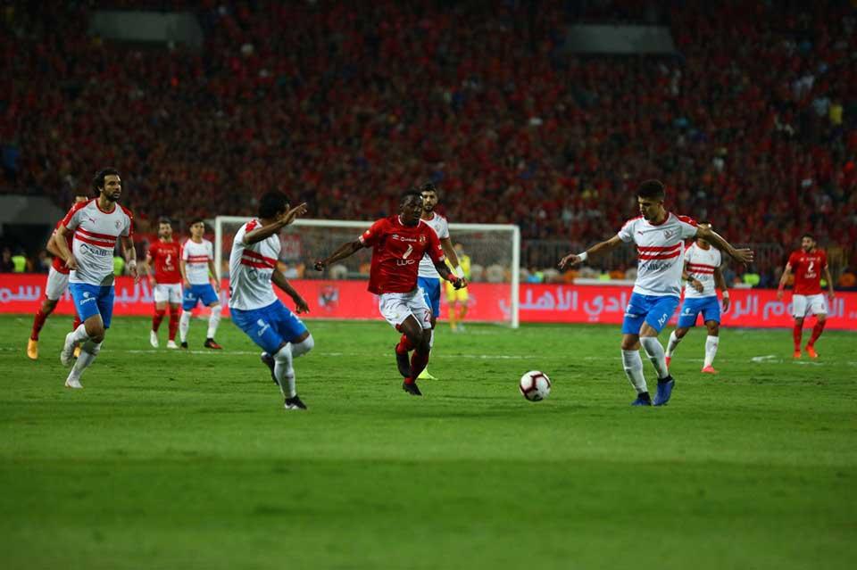 صورة رسمياً مباراة الأهلي والزمالك بكأس السوبر في أبوظبي
