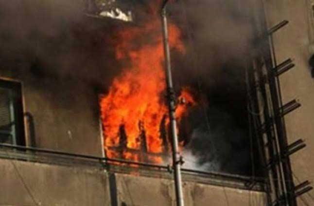 صورة إصابة 5 أشخاص بحروق بسبب انفجار أنبوبة غاز بالزقازيق