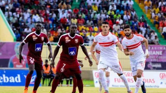ترتيب مجموعة الزمالك بعد التعادل أمام زيسكو بدوري أبطال إفريقيا