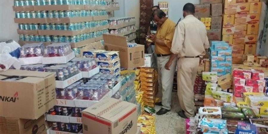 صورة تموين الشرقية تشن حمالات مفاجئة على الأسواق