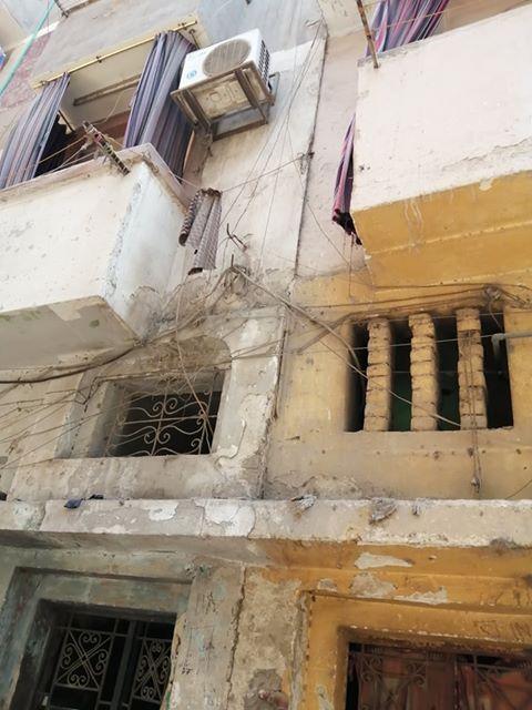 إخلاء بعض المنازل من المواطنين بالزقازيق 4