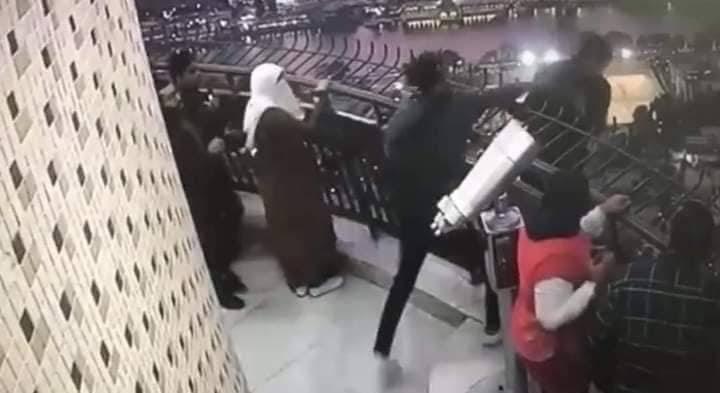 صورة الرسالة الأخيرة من الشاب الذي قام بإلقاء نفسه من برج القاهرة