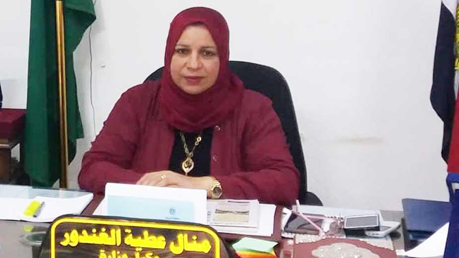 صورة ندب رئيسة مركز منيا القمح سكرتيراً عاماً لمحافظة الدقهلية