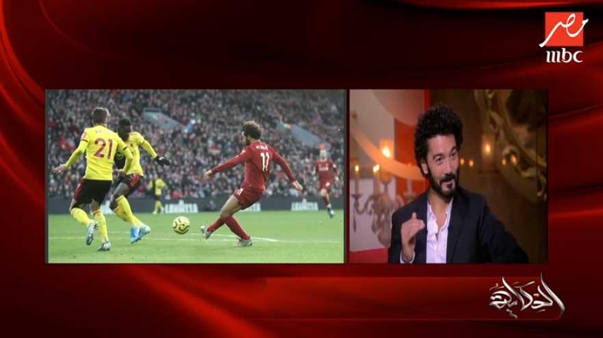 صورة خالد النبوي يعلق على صفقات الأهلي الجديدة ويمازح عمرو أديب