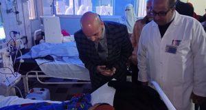 وكيل صحة الشرقية في مستشفى بلبيس