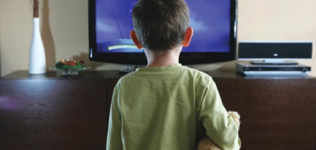 التليفزيون على صحة الطفل