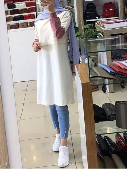 ملابس كاجوال للمحجبات موضة 2020