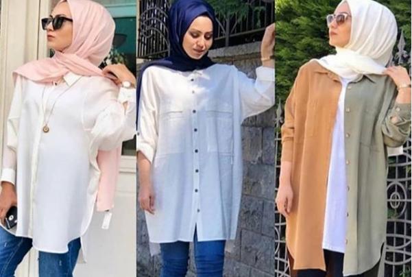 صورة ملابس محجبات صيفي للتفصيل غير تقليدية موضة 2020