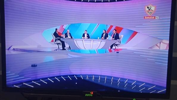 صورة رسميًا انطلاق البث الرسمي لقناة نادي الزمالك