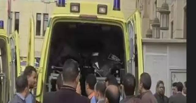 صورة إصابة 6 أشخاص في حادث انقلاب سيارة سزوكي بطريق بلبيس العاشر من رمضان