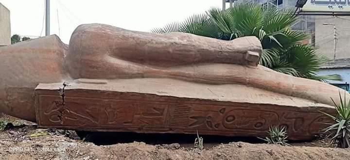 تمثال رمسيس بالزقازيق