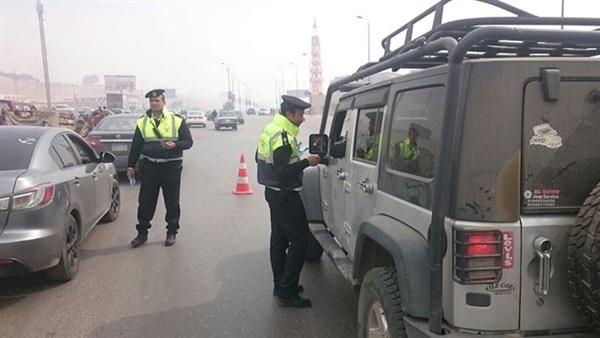 صورة مرور الشرقية يفحص 16 سائقًا للاشتباه بهم بتعاطيهم المواد المخدرة