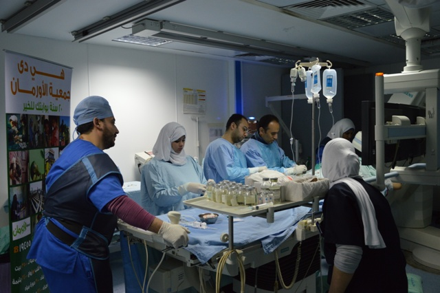 صورة إجراء 15 عملية قسطرة بمحافظة الشرقية مجانًا لغير القادرين