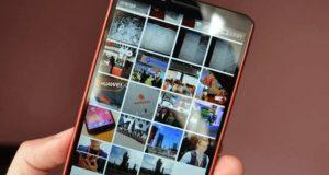 الصور على الموبايل