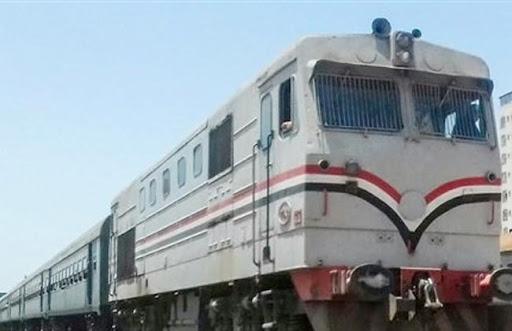 صورة إصابة شاب إثر سقوطه من القطار بمحافظة الشرقية