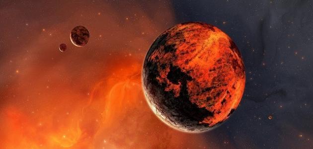 الكوكب الأحمر