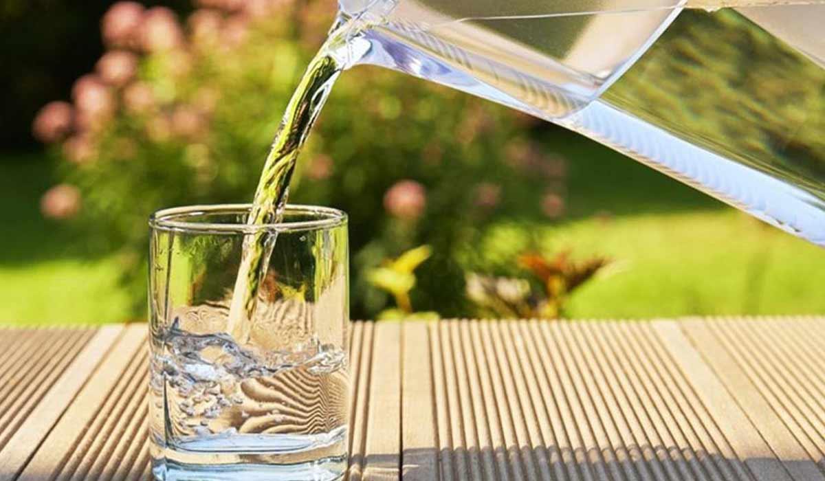 صورة الماء الساخن للكرش