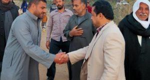 رئيس مركز أبوحماد يتفقد عدد من القرى