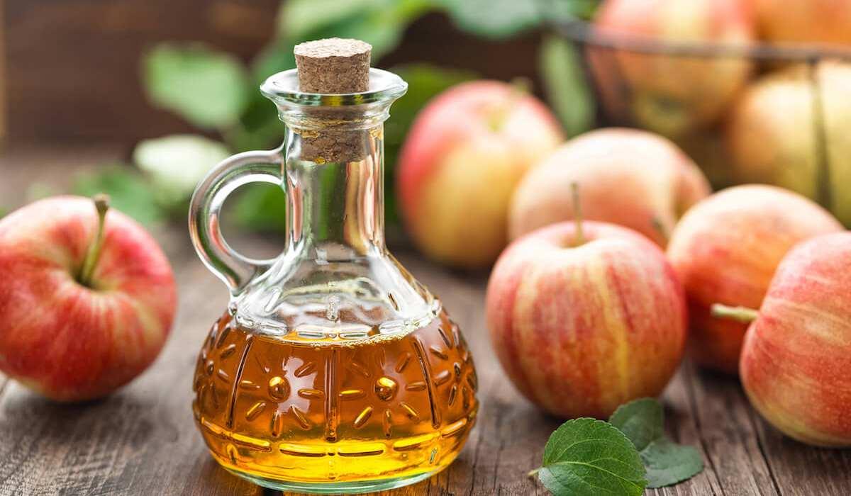 فوائد خل التفاح مع زيت الزيتون للكرش