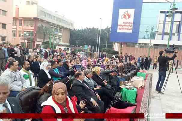 حضور الفاعلية عدد من المواطنين