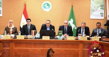 اجتماع المجلس التنفيذي لمحافظ الشرقية