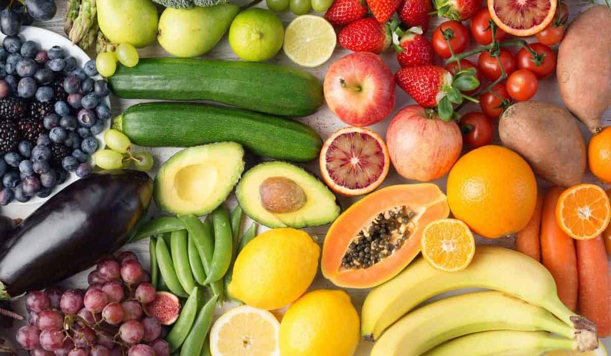 فوائد الفواكه والخضار للجسم